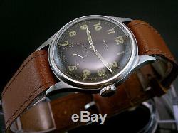 Zenith Dh, Militaire Tres Rare Pour Les Montres-bracelets Armée Allemande, Wehrmacht De La Seconde Guerre Mondiale