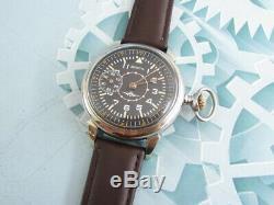 Zenith Laco Luftwaffe Wwii Vintage Suisse Militaire Pour L'armée Allemande Wristwatch