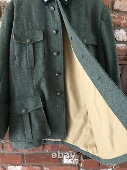 (ww2 Reproduction Allemande) M36 38 Blouse De Campagne Et Pantalon De Montagne De L'armée Allemande W32